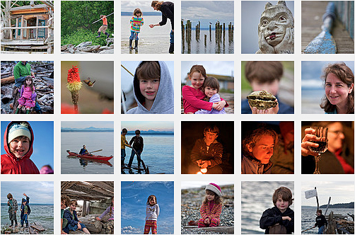 Tom Twigg Whidbey Island photo set thumbnails
